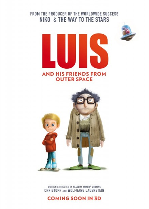 Luis and the Aliens Fragmanı izle