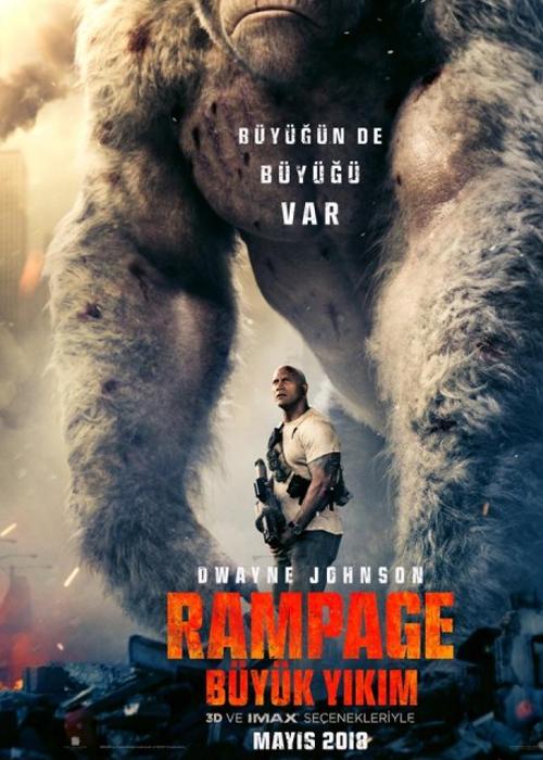 Rampage Büyük Yıkım Fragmanı izle
