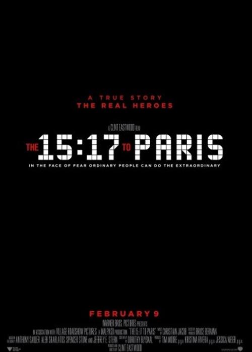 15 17 Paris Treni Fragmanı izle