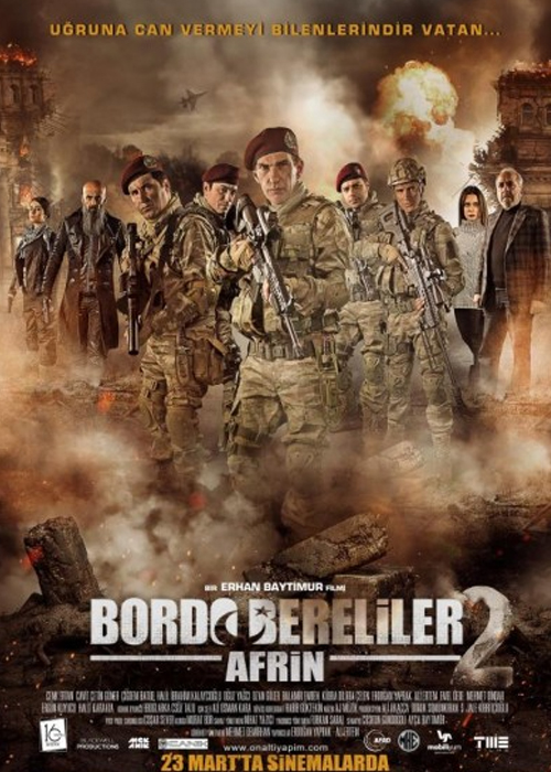 Bordo Bereliler Afrin Fragmanı izle
