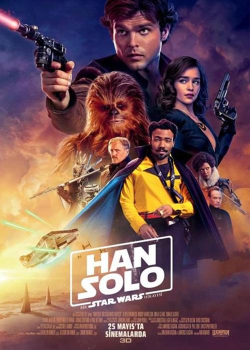 Han Solo Bir Star Wars Hikayesi Fragmanı izle
