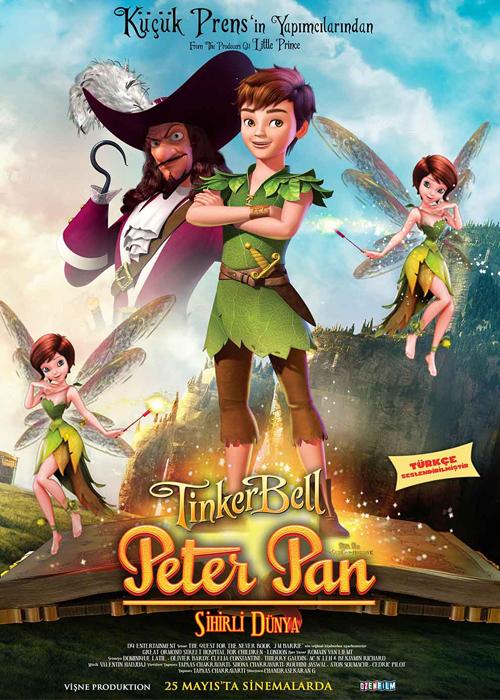 Peter Pan ve Tinker Bell Sihirli Dünya Fragmanı izle
