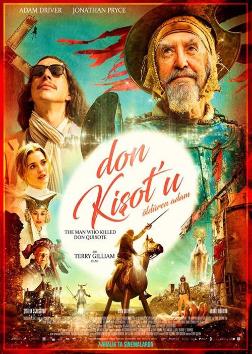 Don Kişotu Öldüren Adam Fragmanı izle