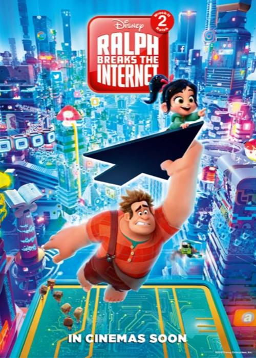Ralph ve İnternet Fragmanı izle